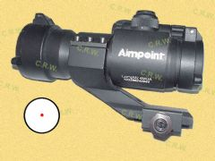 Aimpoint Replica and Mount (with Marking)